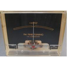 Luxman 1500 FM Tuning Meter