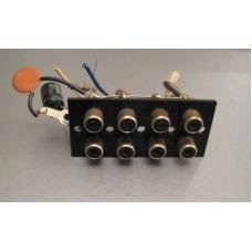 Luxman R-1120 Receiver Deck 1 Deck 2 Input Jacks