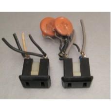 Luxman R-1120 Receiver AC Outlet Jack Pair