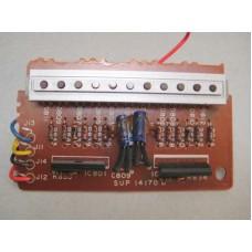 Technics SA-500 Power Level Display Board Part # SUP14170D