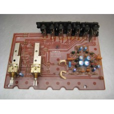 Yamaha CA-610 II Amplifier Function Circuit Board Part #NA069370