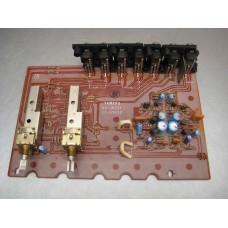 Yamaha CA-610 II Amplifier Function Circuit Board Part #NA069370