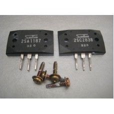 2SA1187 2SC2838 Sanken Power Transistor Pair