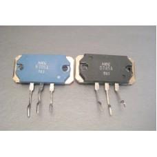 NEC 2SB705A 2SD745A Power Transistor Pair
