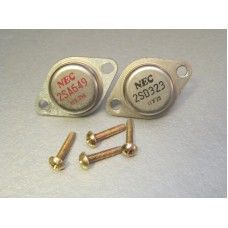 NEC 2SA649 2SD323 Power Transistor Pair