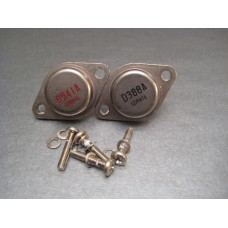 2SB541A 2SD388A TO-3 Power Transistor Pair