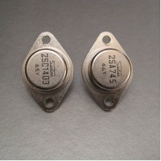 2SC1403 2SA745 Sanken Power Amplifier Transistor Pair