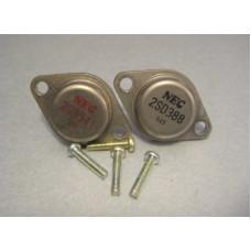 2SB541 2SD388  TO-3 Power Transistor NEC Brand