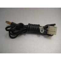 Dual 1229 Turntable Power Cord Part # 220142