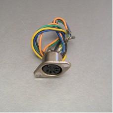 Kenwood Amplifier KA-7100 DIN Connector Socket Part # E06-0501-05