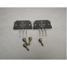 2SA1075 2SC2525 FUJITSU Power Transistor Pair