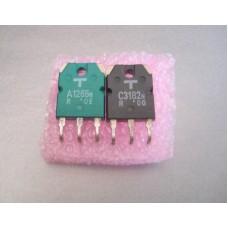2SA1265N 2SC3182N Toshiba Power Transistor Pair