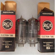 RCA 6GM5 Vacuum Tube Matched Pair Made in USA
