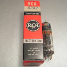 RCA 6202 Full-wave Rectifier Ruggedized 6X4 Vacuum Tube