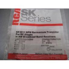 SK3011 NPN Germanium Transistor RCA SK Series