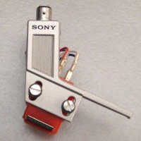 Sony Headshell with XL 15A Cartridge and ND 15A Stylus
