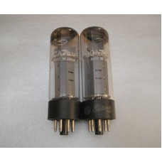 6CA7 EL34 GE Vacuum Tube Matched Pair