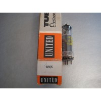 United Electron 6BQ5 EL84 Vacuum Tube Grey Plate Made in Japan