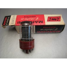 Marconi 5692 6SN7GTB RCA Red Base NOS Vacuum Tube